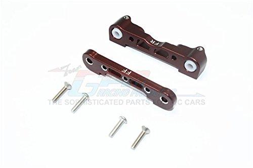 Arrma Kraton 6S BLX (AR106005/106015/106018) Upgrade Parts Aluminum Front Lower Suspension Mount - 1Pr Set Brown