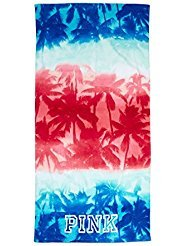 Price comparison product image Victoria's Secret PINK Beach Towel Americana USA Palms