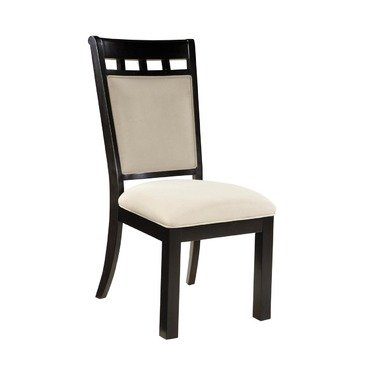 6a6b35748e58 Amazon.com - Standard Furniture Gateway White 7 Piece Dining Room Set w  Parsons  Chairs in Dark Chicory Brown - Chairs