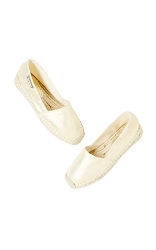 Lilly Espadrille Lilly In Metallo Oro Donna Pulitzer