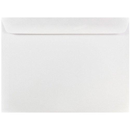 JAM PAPER 8 3/4 x 11 1/2 Booklet Commercial Envelopes - White - 25/Pack