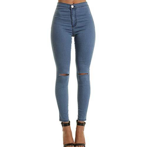 Alta Jeans Vita Bassa Blue Strappati Wowulgar A Size color M White dXwxHqnS