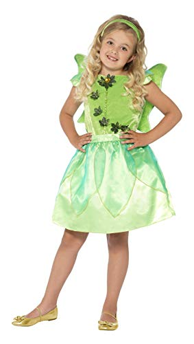 Smiffys Baby Girls' Forest Fairy Costume, Green, Toddler Medium]()
