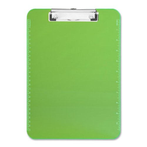 Sparco Transparent Clipboard neon green