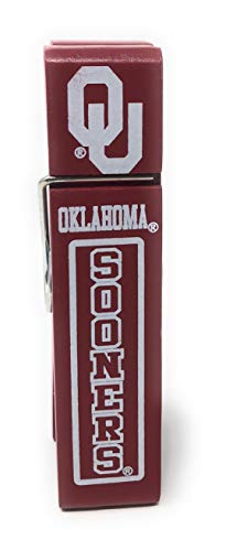 University of Oklahoma (OU) Sooners Wooden Clip for Desktop Pictures or Notes