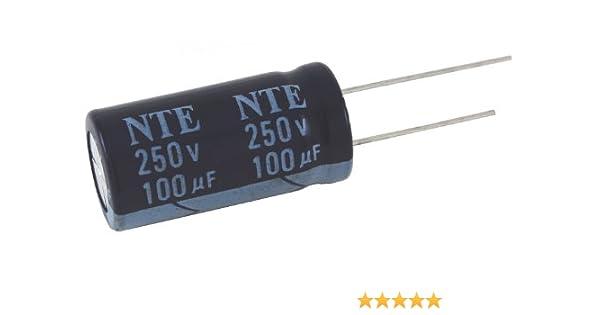 50 PCS 47UF 47mfd 250V Electrolytic Capacitor 105 degrees USA FREE SHIPPING