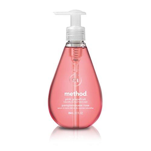 Method Gel Hand Soap, Pink Grapefruit, 12 Ounce (Pack 6) ()