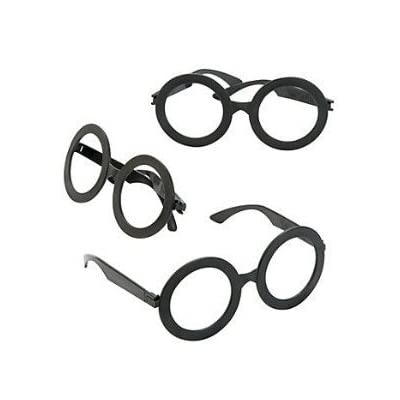 - Plastic Wizard Glasses - Great Magic Theme Party Bags by MunchieMoosKids