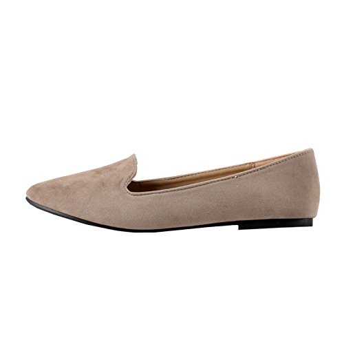 b62ef16d3d2 Forever Women s Diana-81 Ballet Loafer-Flats Shoes 50%OFF ...
