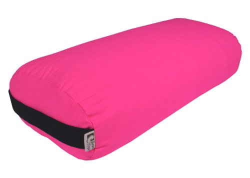 - Bean Products Yoga Bolster - Cotton Rectangle - Hibiscus