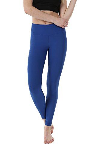 Cheap OUTOF Women's Yoga Pants – Mid Waist Long WML8317 Galaxy Blue Large – Control Shapewear with Streamlined Design Leggings Dance Studio School