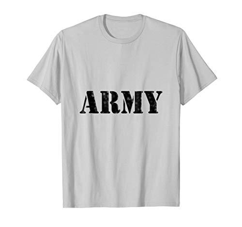 Classic Vintage USA Army Military Logo T-Shirt