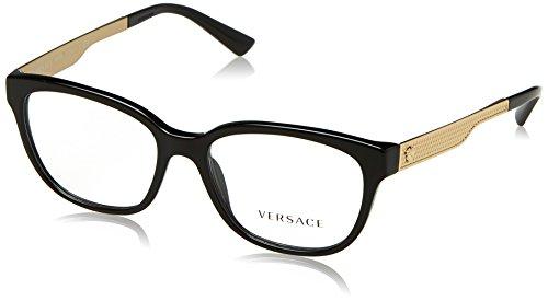 Versace Women's VE3240 Eyeglasses Black 52mm by Versace