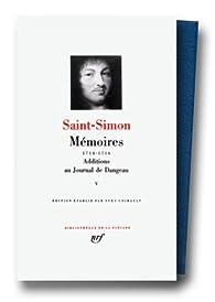Mémoires, tome 5 : 1714 1716 par  Saint-Simon