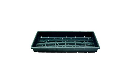 1020 Greenhouse Trays (With Holes) - Growing - Plant - Germination - Seed Tray - One Case of 100 by Grower's Solution
