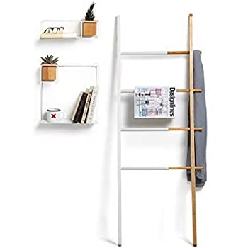 Amazon Com Umbra Hub Ladder Adjustable Clothing Rack
