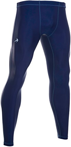 Men's Compression Pants - Workout Leggings for Gym, Basketball, Cycling, Yoga, Hiking - Rash Guard + Performance Running Tights - Athletic Base Layer Pants/Thermal Underwear for Men ()