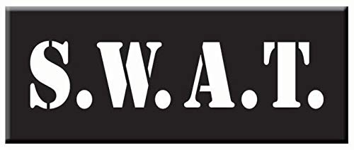 - Forum Novelties 78824 Iron On Applique - Swat Team Police, Any (Pack of 12)