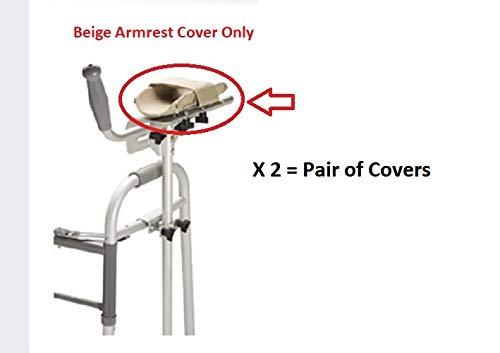 Medline/Guardian Walker Platform Armrest Cover - Pair - (G222-0372) RPO.7702/06/96, Beige