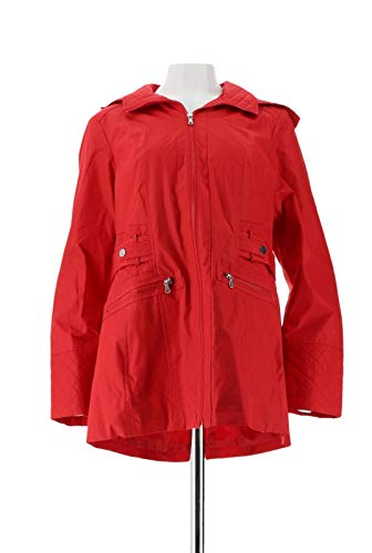 Liz Claiborne NY Jacket Quilting Red L New A262944