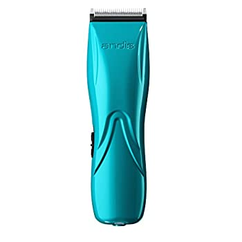 Image of Andis Pulse Li 5 Cord/Cordless Grooming Clipper, Teal Pet Supplies