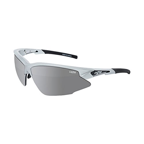 Lazer Eyewear Argon Race ARR Sunglasses (GLOSS SILVER - Face Lazer Sunglasses