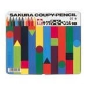 (業務用30セット) サクラクレパス クーピーペンシル FY18 18色 缶入 ×30セット B01MCVRKAM