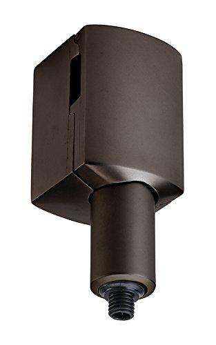 Juno Lighting Group MLTQJL75-BRZ MonoLine Track System LED-Compatible Quick Jack Transformer Adapter, Vintage Bronze Finish ()