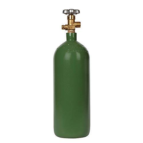 New 20 cu ft Steel Oxygen Cylinder with CGA540 Valve