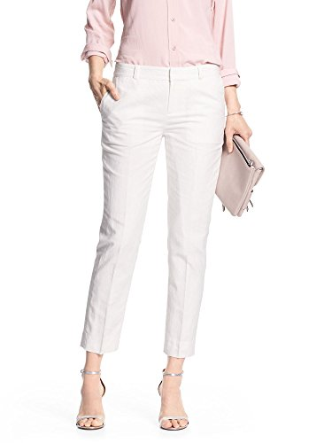 Cropped Ankle Pants - 6