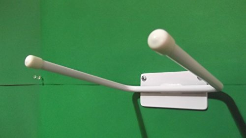 (Tennis Racket Wall Hanger Rack Display)