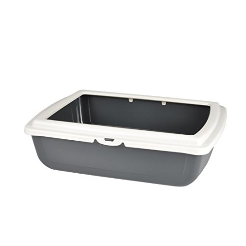 Ami Confort – Cat Litter Tray with Rim 46 x 36 x 12 cm
