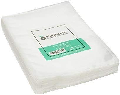 Amazon.com: Bolsas de sellado al vacío Nutri-Lock. 100 ...