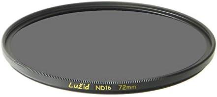 LURMVID 72mm ND16 MC Filter Schott B270 ガラス 真鍮フレーム 4ストップ ND 1.2 マルチコート 72 ルジッド