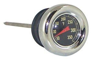 MIDUSA 88019 Oil Tank Filler Plug With Temperature Gauge for Harley Davidson Sportster