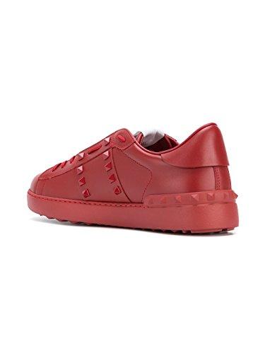 Valentino Garavani Leder Rot Sneakers PY2S0931MZD0RO Herren wqn0ZBxYqz