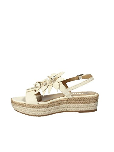 Apepazza BRB05 Wedge Sandals Women White 38 8RGf55