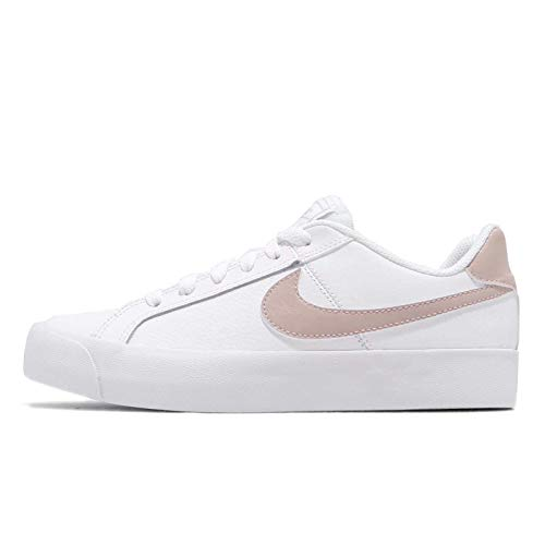 Nike Womens Court Royale AC White Particle Rose Size 6