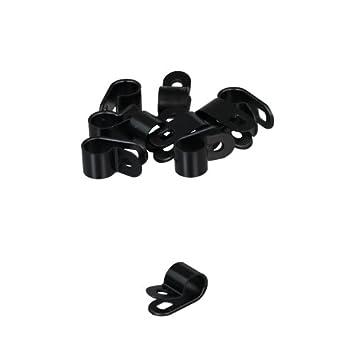 10 x Kabelklemme, Kabelschelle, Kunststoff 9,9mm: Amazon.de: Auto