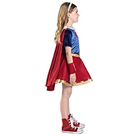 Princess Paradise Super Hero Girls Premium Supergirl