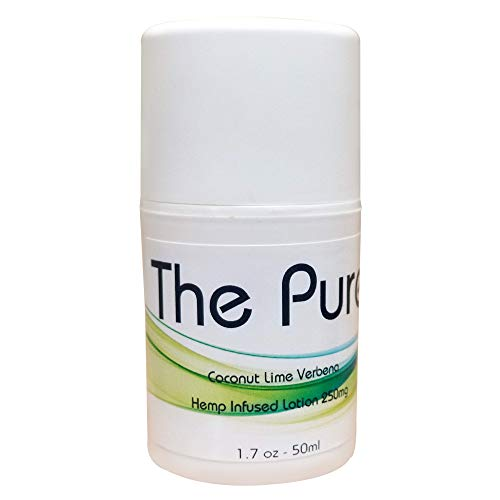 Pure Hemp Pain Relief Cream - Fast Acting Topical Analgesic For Arthritis, Tendinitis, Back, Knee, Muscle, Foot, and Elbow Pain | 1.65 Ounce Pump