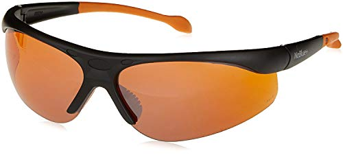 Hack Your Sleep NoBlue Blue Blocking Sunglasses Orange/Amber Tinted Lens Computer Glasses (includes Ebook) Blocks 99.9% of Blue and UV Rays, Prevents Eye Fatigue, Soft Temples