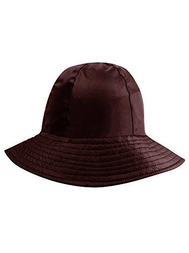 (Brown Reversible Rain Or Sun Style Bucket)