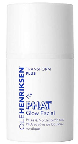 Olehenriksen Phat Glow Facial Mask 1.7 Oz! Anti-Aging Face Mask Formulated With Potent PHAs And Nordic Birch Sap! Exfoliate, Illuminate & Brighten Skin! Vegan, Parben-Free And Cruelty-Free!