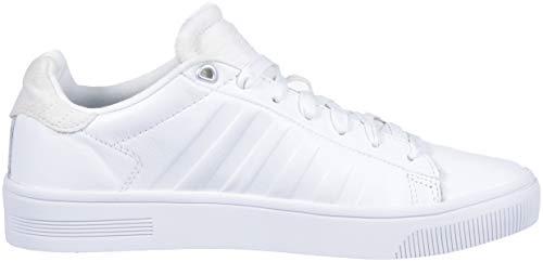 K Delle swiss Donne bianco 142 Frasco Corte Bianche Low Pantofole top Pony OO5SZqr