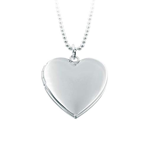 Power Wing Heart Locket Necklace That Holds Pictures,Memory Photo Lockets,Mothers Day Mom Gifts from Daughter Son