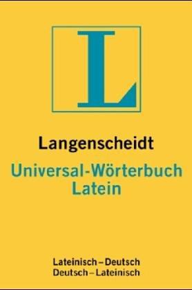 Langenscheidts Universal- Wörterbuch Latein
