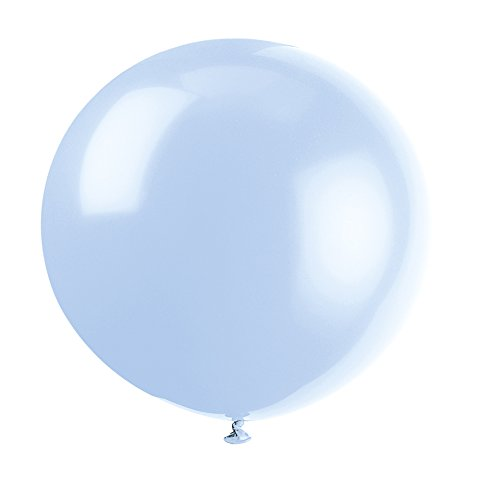 Giant Latex Cool Blue Balloons