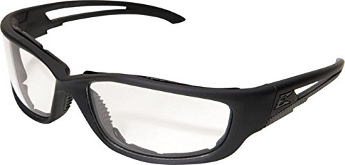 Edge Eyewear Blade Runner XL Matte Black Frame with Gasket/Clear Vapor Shield Lens