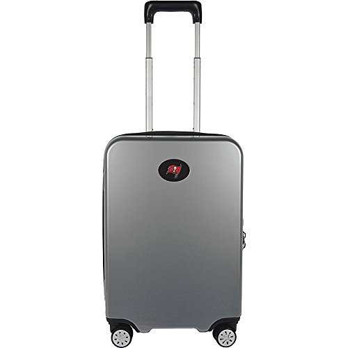 Denco NFL Tampa Bay Buccaneers Premium Hardcase Carry-on Luggage Spinner by Denco